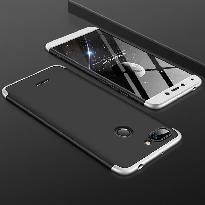 Coque 360 Xiaomi Redmi 6 Noir et Grise.