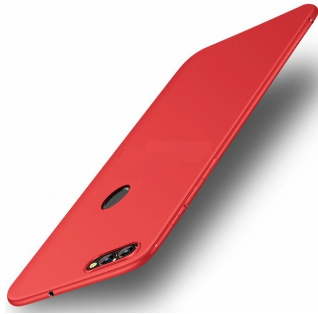 Coque Silicone Xiaomi Redmi 6 Extra Fine Rouge