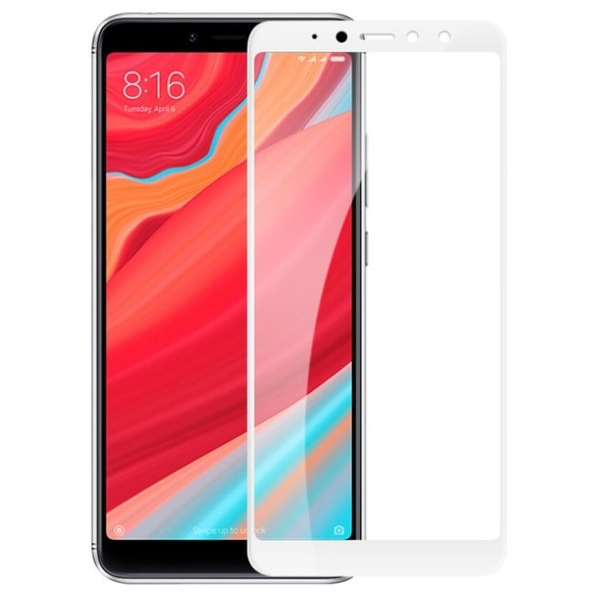 Verre Trempé Xiaomi Redmi S2 Protecteur d'écran Blanc
