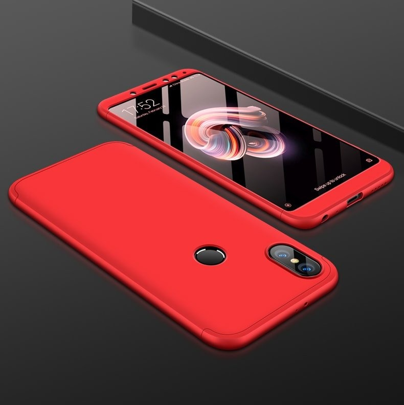 Coque 360 Xiaomi Redmi S2 Rouge.