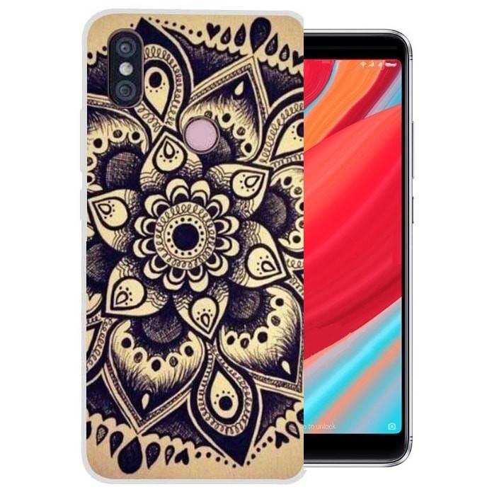 Coque Silicone Xiaomi Redmi S2 Fleur