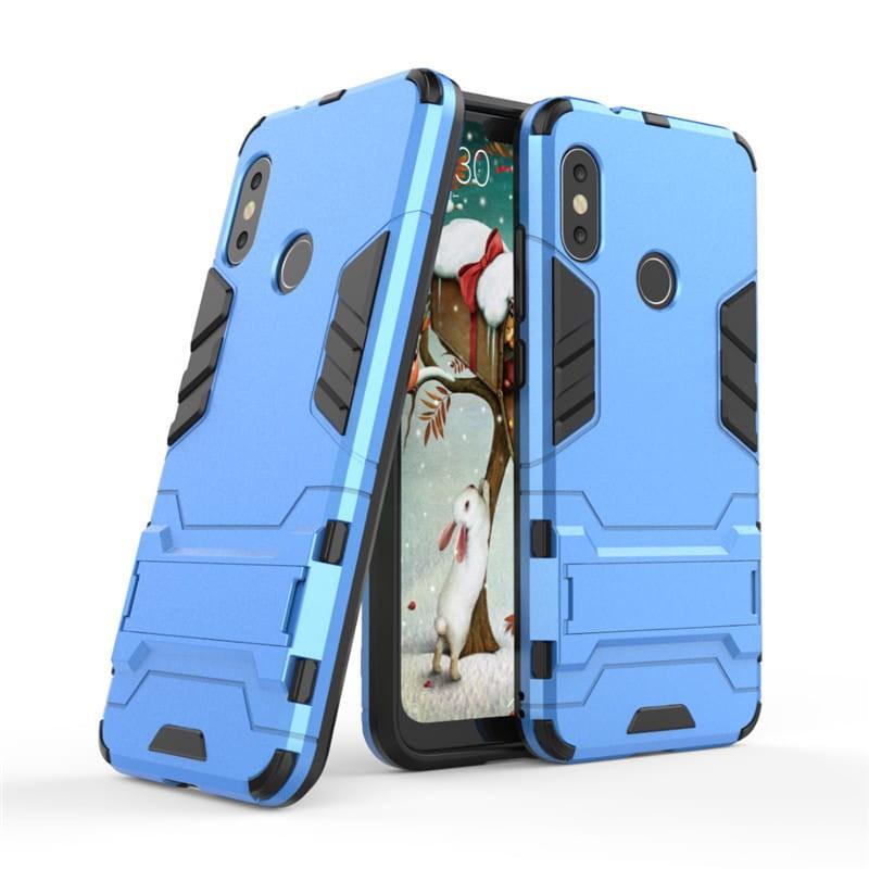 Coque Xiaomi MI A2 Lite Anti Choques Bleu