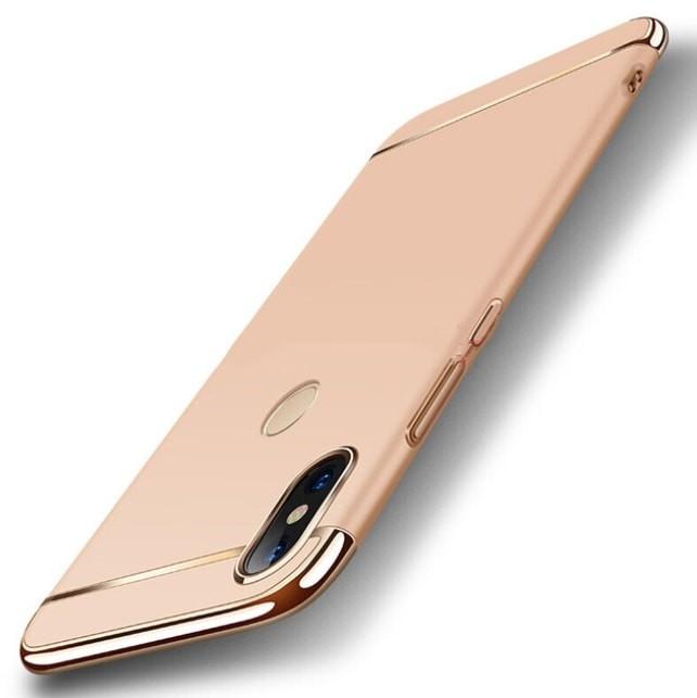 Coque Xiaomi MI A2 Lite Rigide Chromée Dorée.