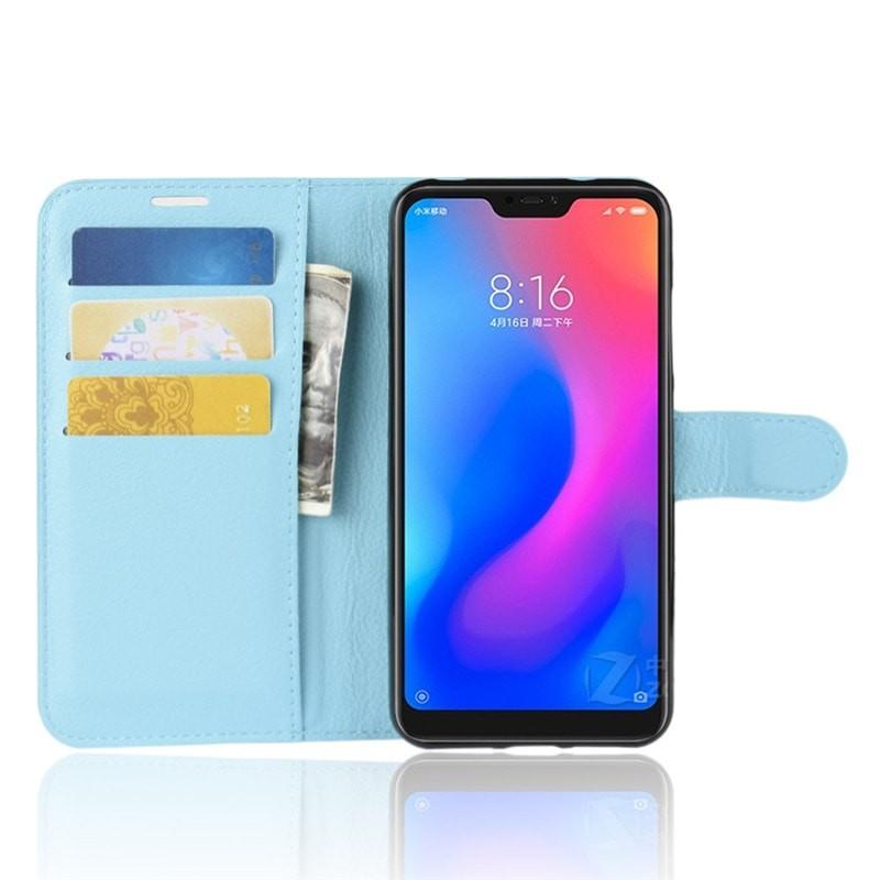 Coque Silicone Xiaomi MI A2 Lite Extra Fine Bleu