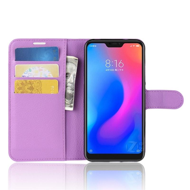 Coque Silicone Xiaomi MI A2 Lite Extra Fine Lila