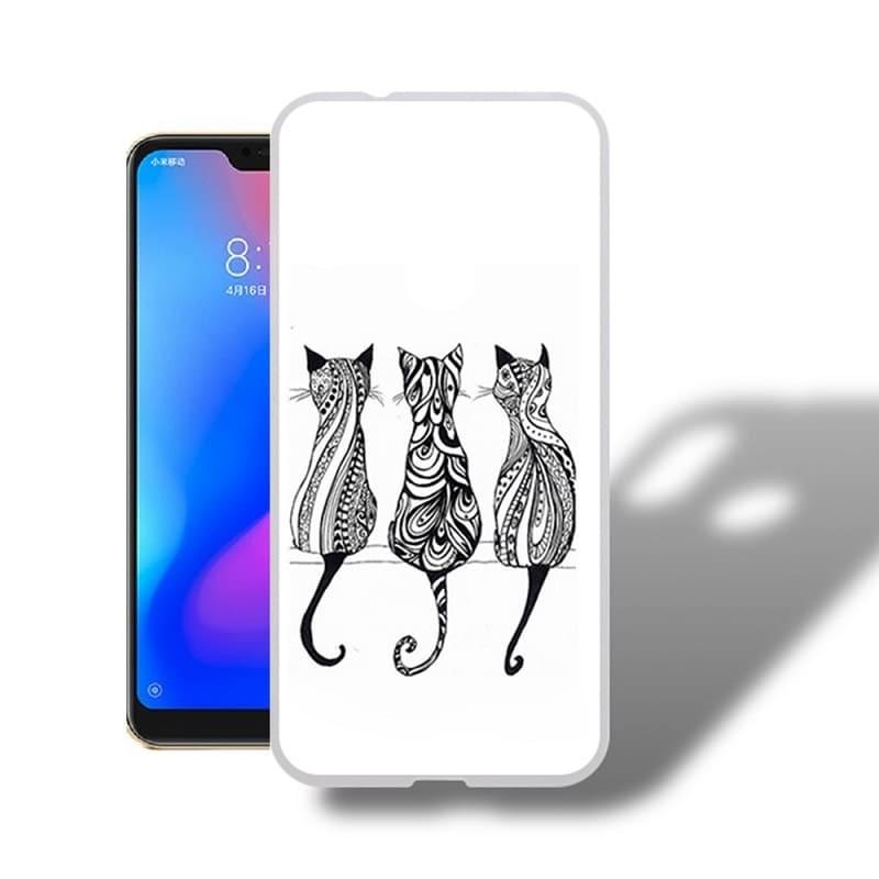 Coque Silicone Xiaomi MI A2 Lite Chats