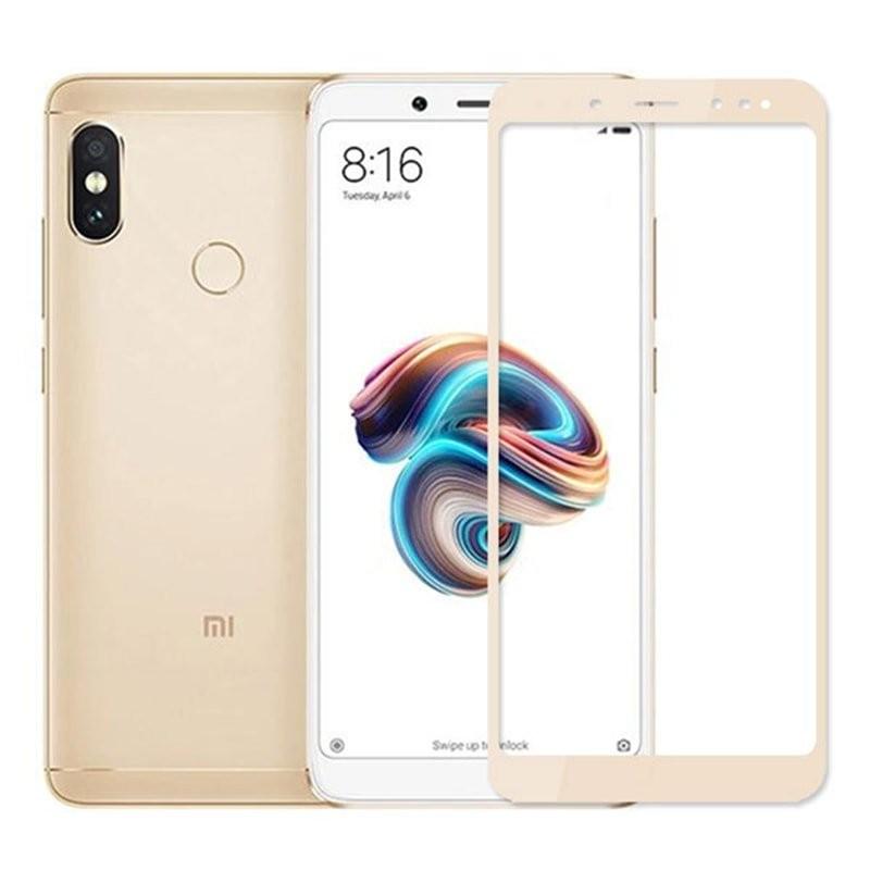 Verre Trempé Xiaomi Mi A2 Protecteur d'écran Doré