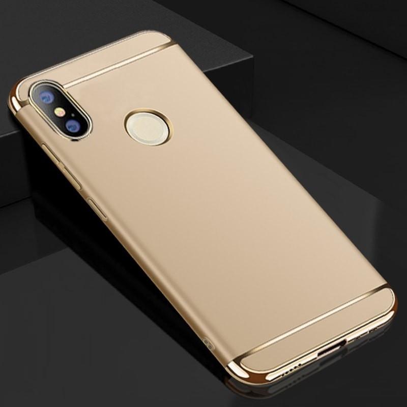 Coque Xiaomi MI A2 Rigide Chromée Dorée