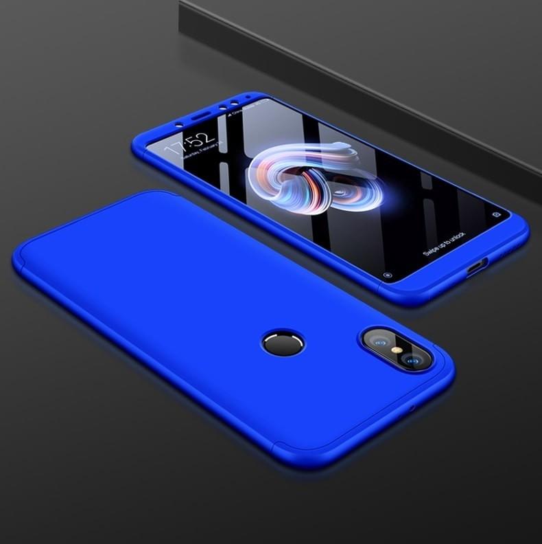 Coque 360 Xiaomi Mi A2 Bleu