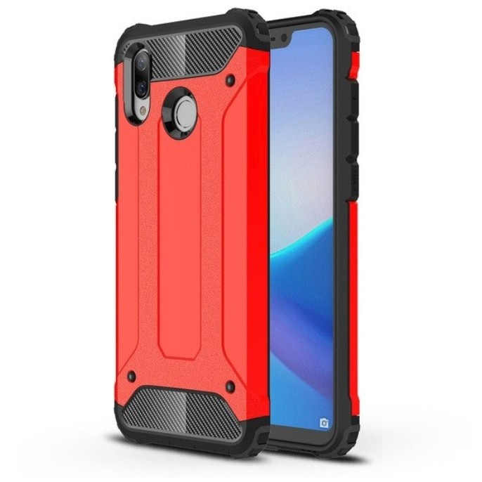 Coque Honor Play Anti Choques Rouge.