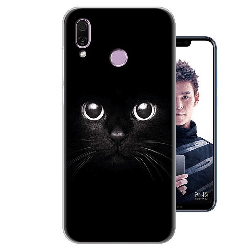 coque silicone honor play 6