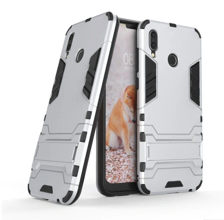 Coque Honor Play Anti Choques Supreme Grise.