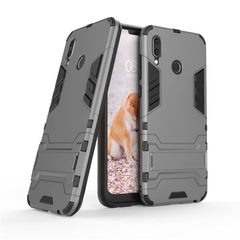 Coque Honor Play Anti Choques Supreme Gris Plomb.