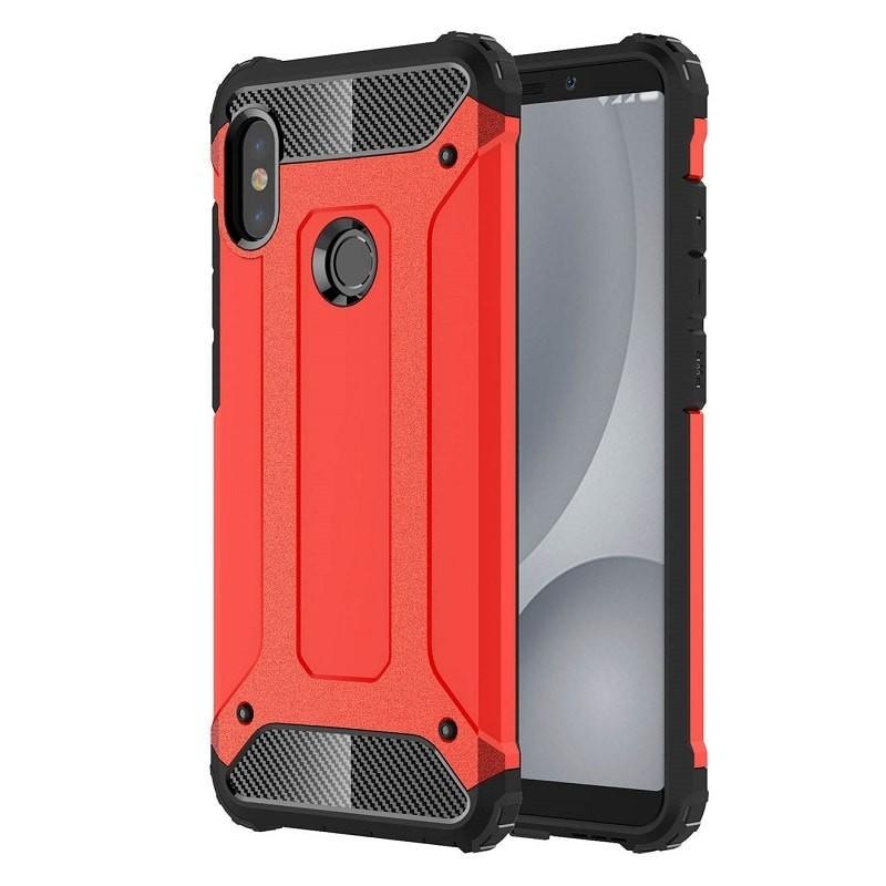 Coque Xiaomi MI A2 Anti Choques Rouge