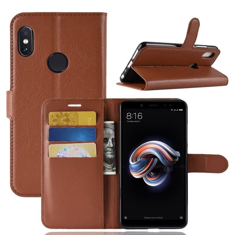 Coque Silicone Xiaomi MI A2 Extra Fine Marron