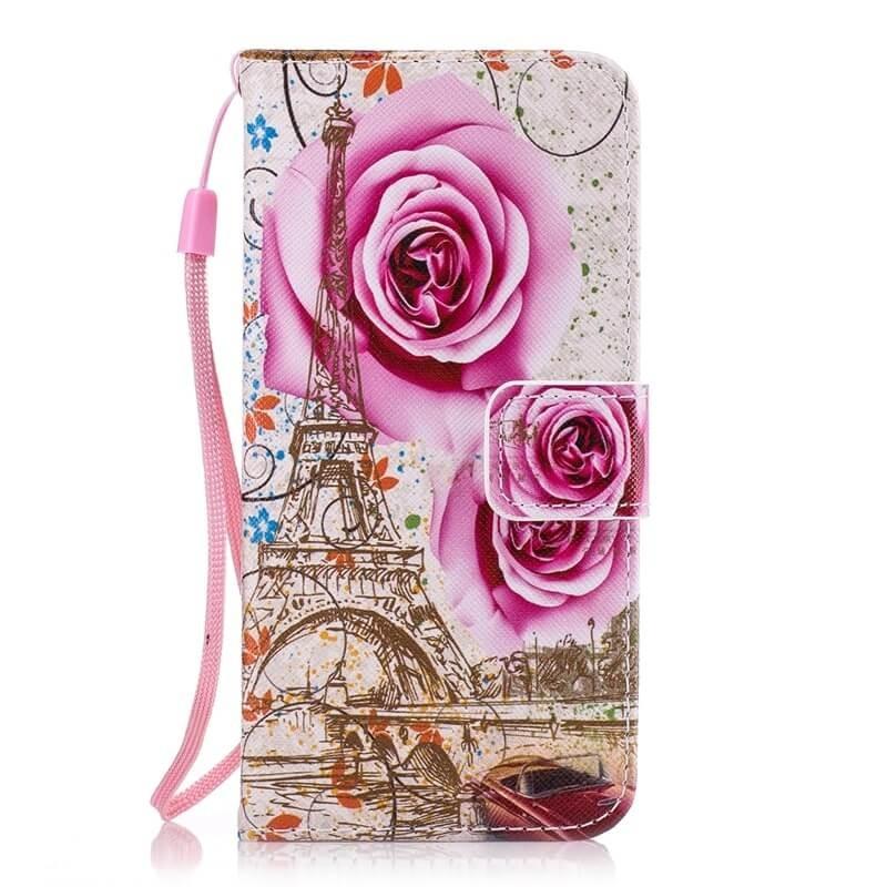 Etuis Portefeuille Xiaomi MI A2 Simili Cuir Tour Eiffel