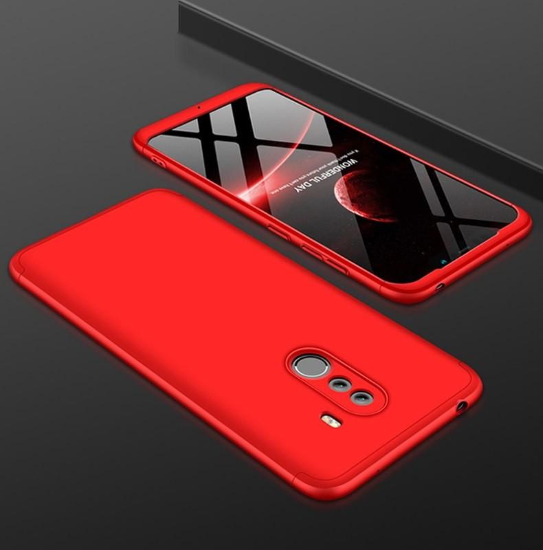 Coque 360 Xiaomi Pocophone F1 Rouge.