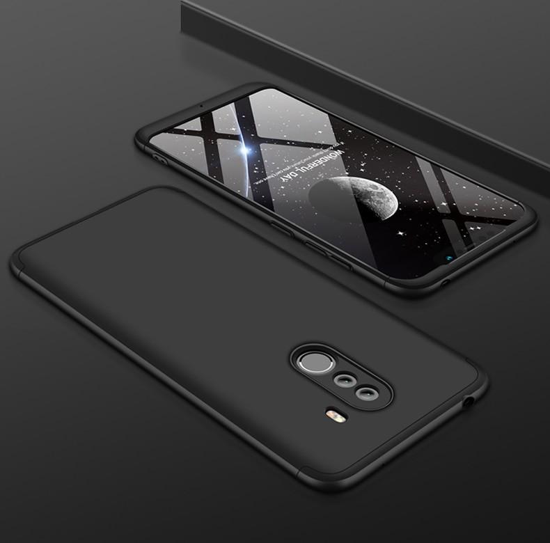 Coque 360 Xiaomi Pocophone F1 Noir.