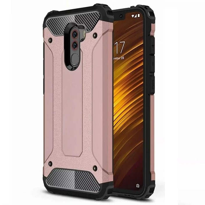 Coque Xiaomi Pocophone F1 Anti Choques Rose