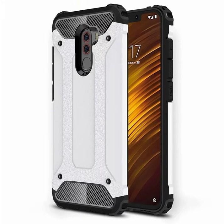 Coque Xiaomi Pocophone F1 Anti Choques Blanche