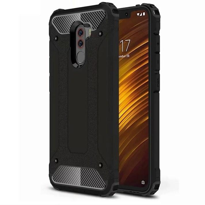 Coque Xiaomi Pocophone F1 Anti Choques Noir