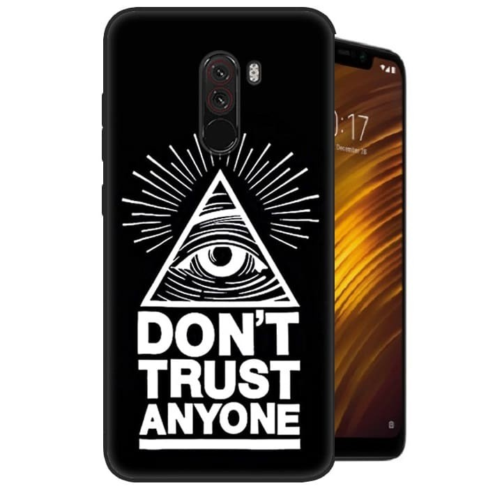 Coque Silicone Xiaomi Pocophone F1 Confiance.