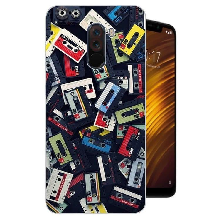 Coque Silicone Xiaomi Pocophone F1 Cassettes