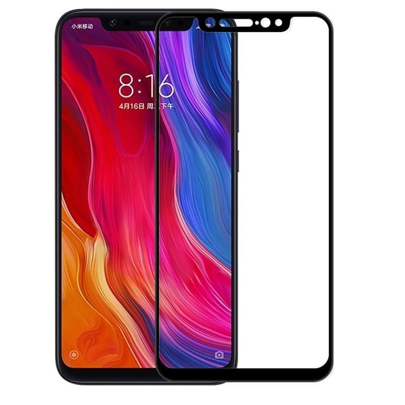 Verre Trempé Xiaomi Mi 8 SE Protecteur d'écran Noir