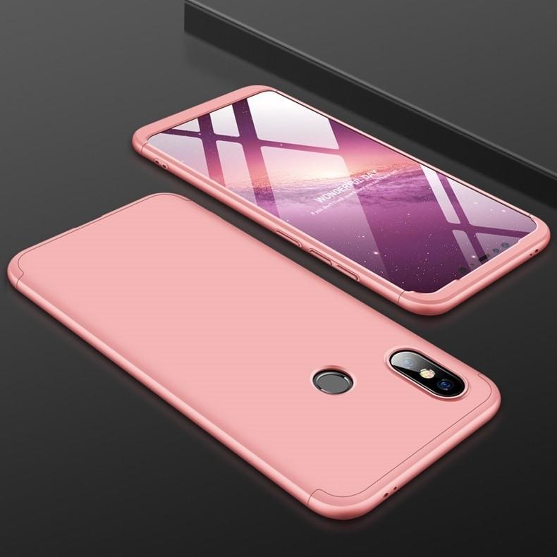 Coque 360 Xiaomi MI 8 SE Rose.