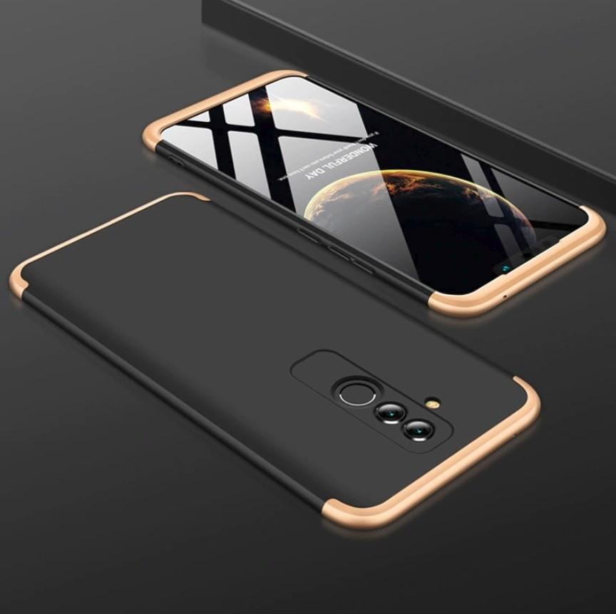 Coque 360 Huawei Mate 20 Lite Noir et Or.