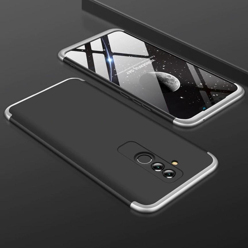 Coque 360 Huawei Mate 20 Lite Noir et Grise.