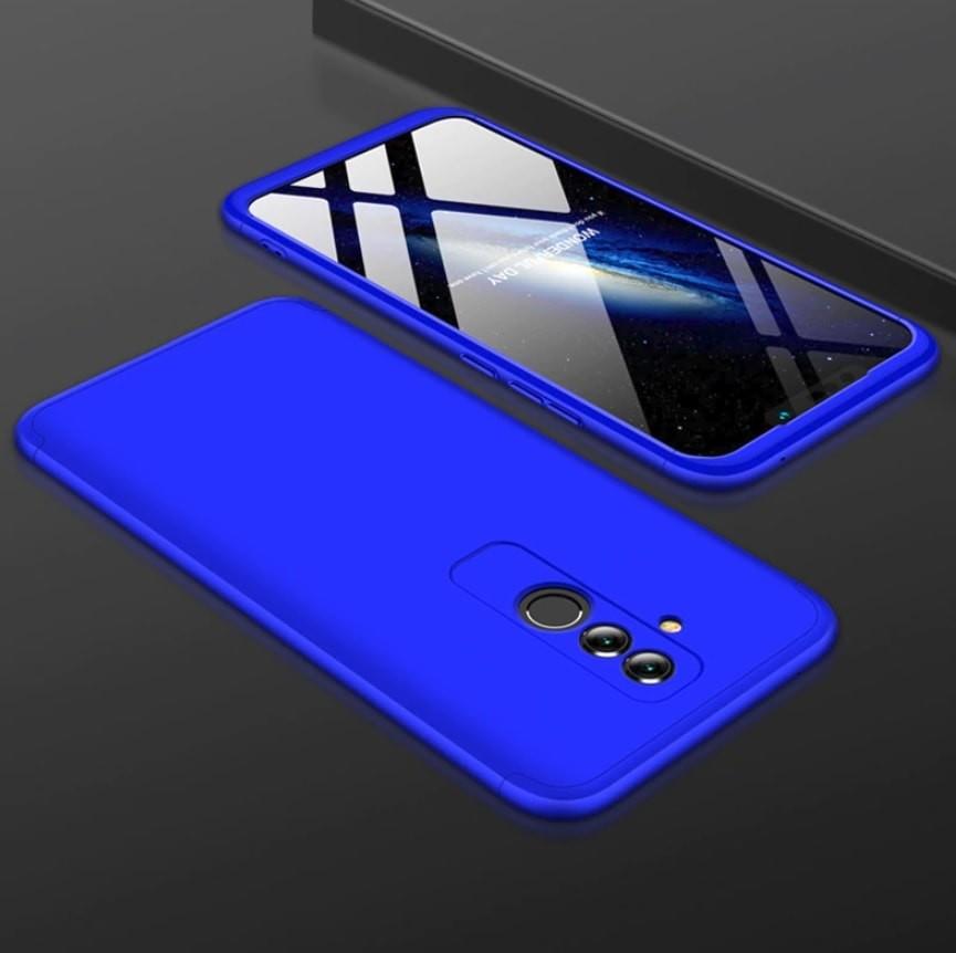 Coque 360 Huawei Mate 20 Lite Azul.
