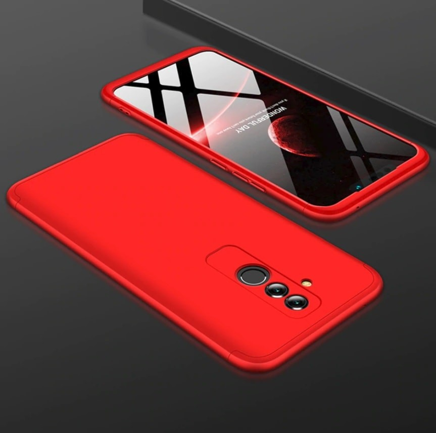 Coque 360 Huawei Mate 20 Lite Rouge.