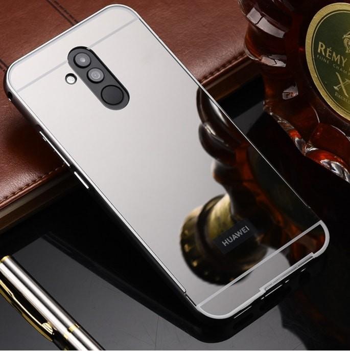Bumper Huawei Mate 20 Lite Aluminium Mirroir Gris Antracite