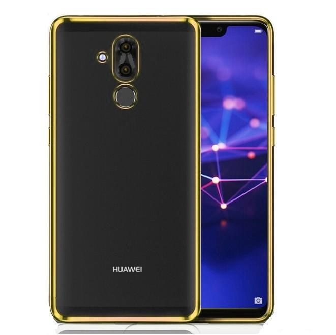 Coque TPU Huawei Mate 20 Lite Chromée Dorée