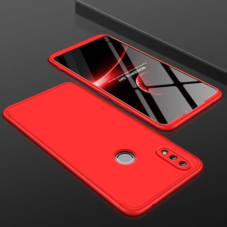 Coque 360 Honor 8X Rouge