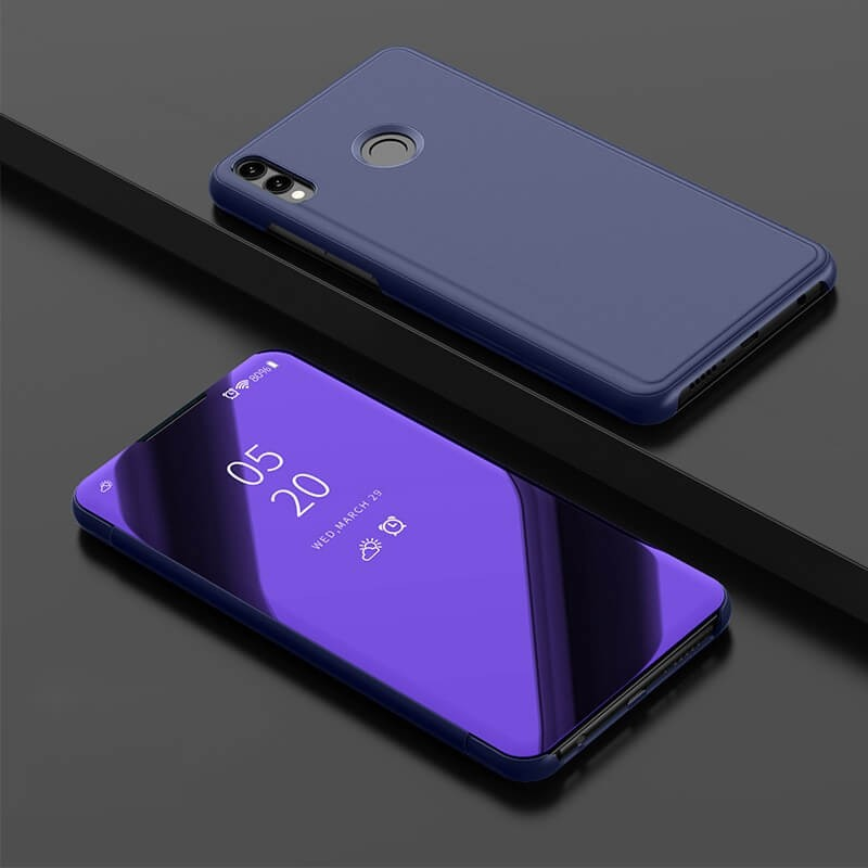 Etuis Honor Honor 8X Cover Translucide Lila