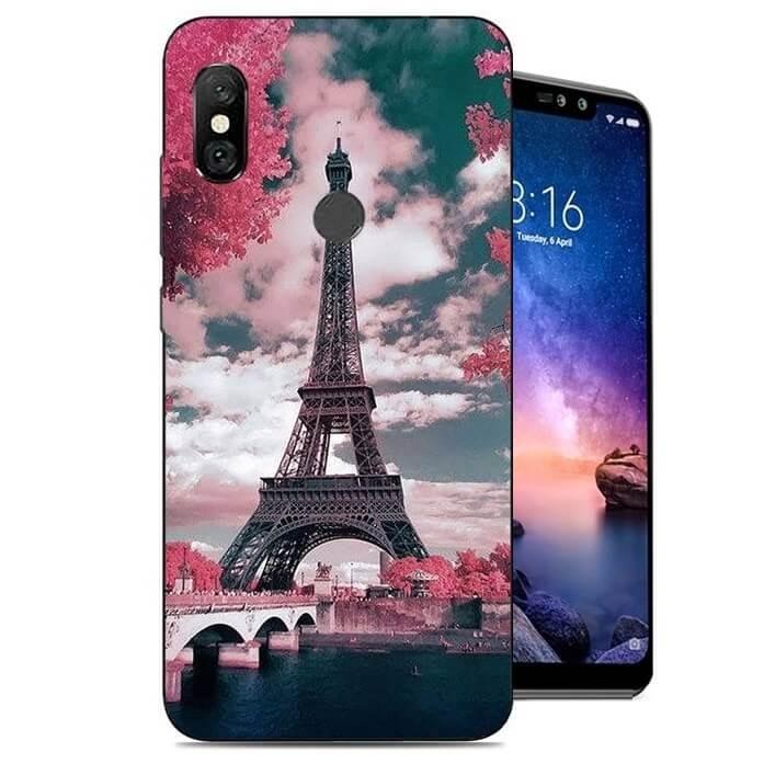 Coque Silicone Xiaomi Redmi Note 6 Pro Paris