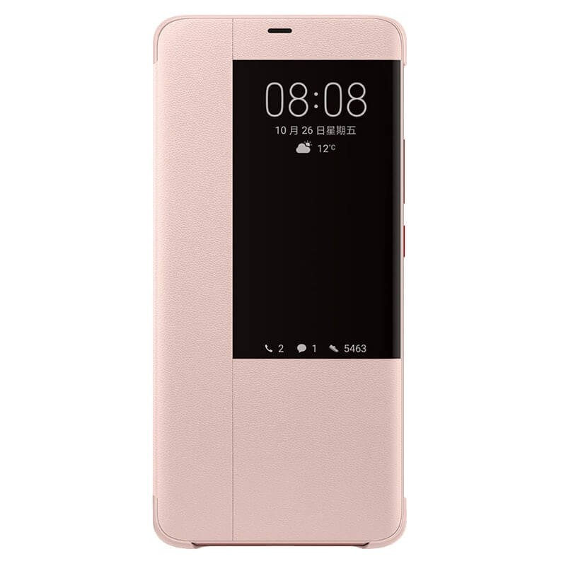 Etuis Officiel Smart Cover Huawei Mate 20 rose 2.