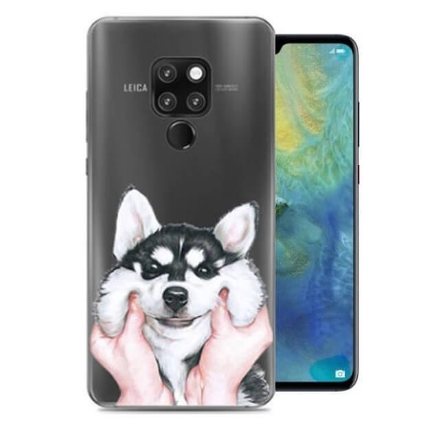 Coque Silicone Huawei Mate 10 Lite Chien