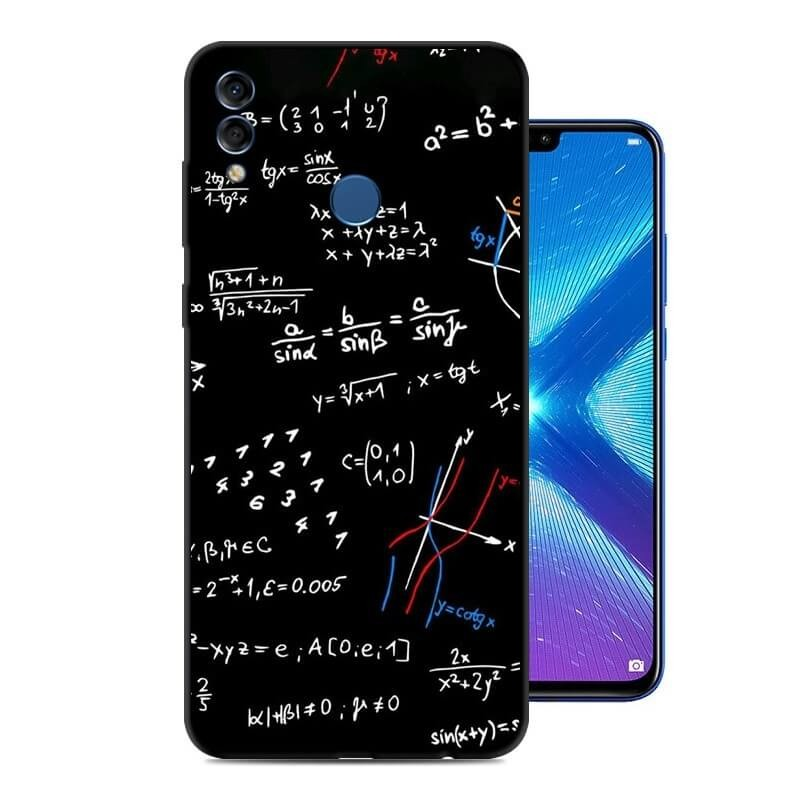 Coque Silicone Honor 8X Formules