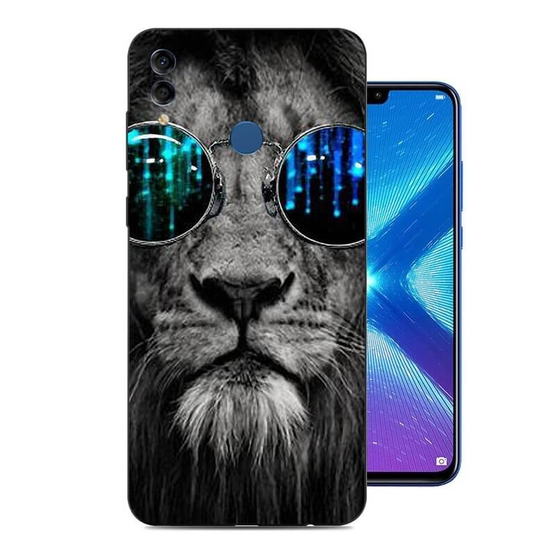 Coque Silicone Honor 8X Lion Cool