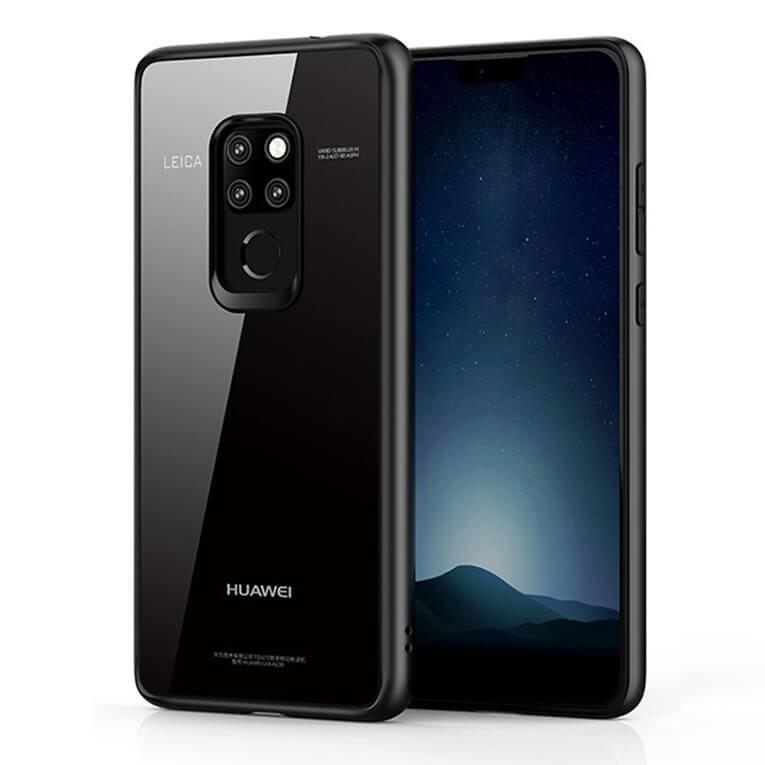 Coque Acrilique Huawei Mate 20 Supreme Noir.