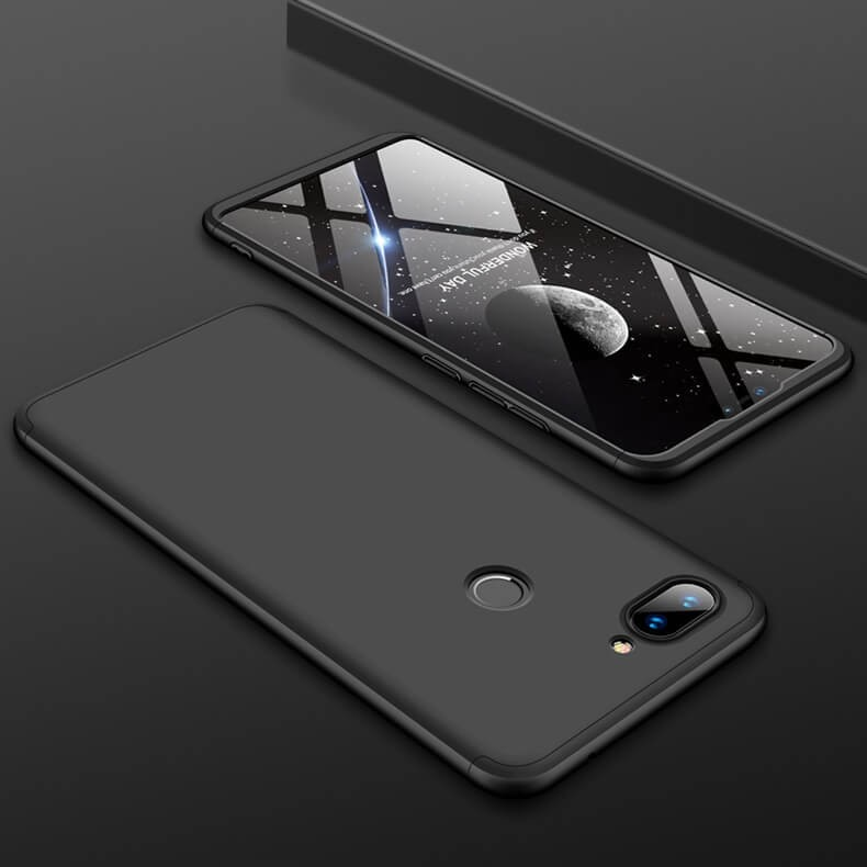 Coque 360 Xiaomi MI 8 Lite Noire.