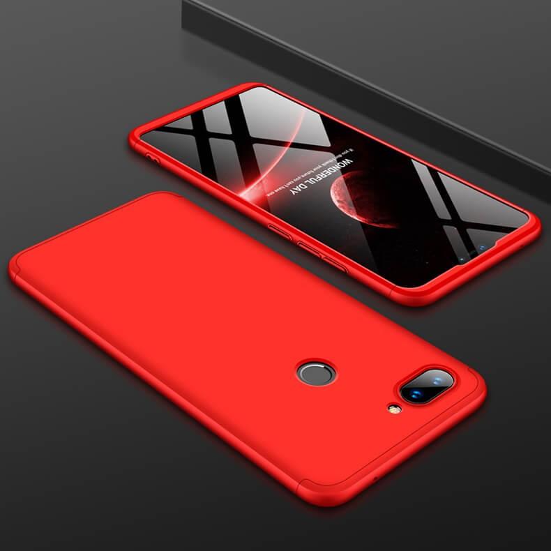 Coque 360 Xiaomi MI 8 Lite Rouge.