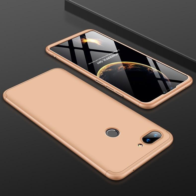 Coque 360 Xiaomi MI 8 Lite Dorée.