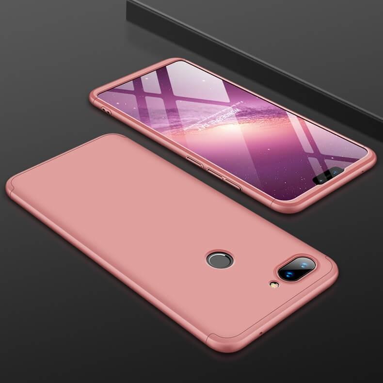 Coque 360 Xiaomi MI 8 Lite Rose.