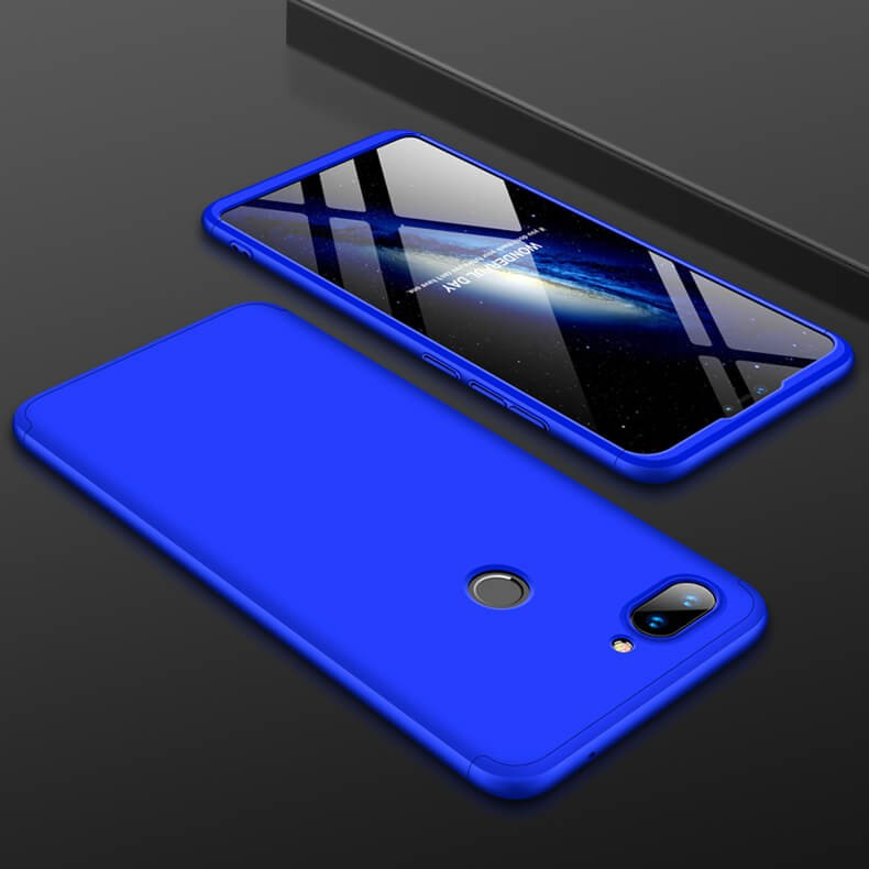 Coque 360 Xiaomi MI 8 Lite Bleu.