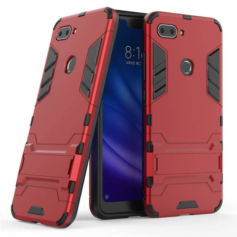 Coque Xiaomi MI 8 Lite Anti Choques TREX Rouge