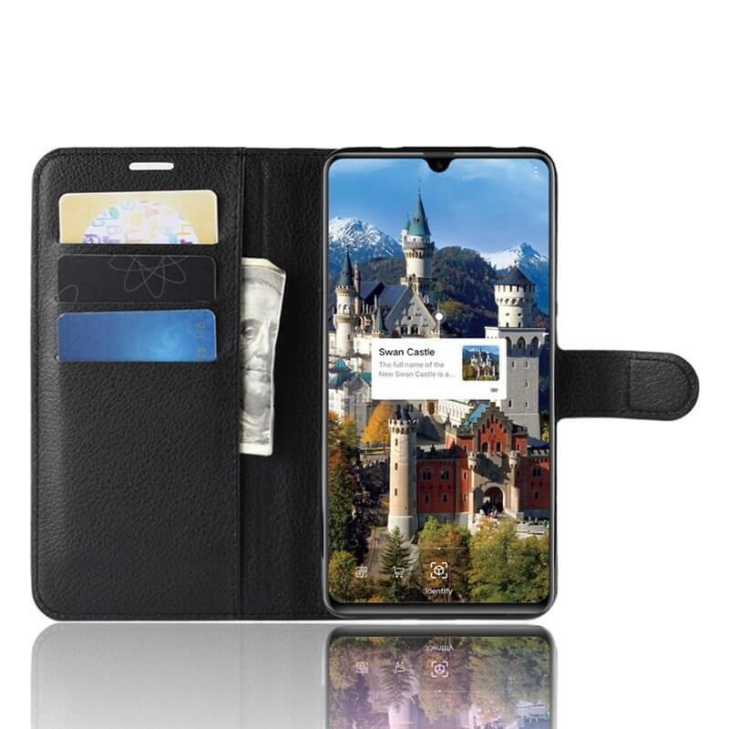 Etuis Portefeuille Huawei Mate 20 Simili Cuir Noir